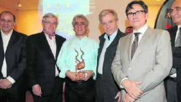 Prix Vautier-Bouamari décerné par Costa-Gavras