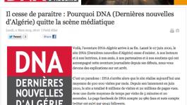 Le site DNA-Algérie jette l'éponge