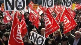 Espagne : les syndicats menacent d'une grève générale