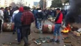 Bouira : grève générale à Haïzer contre la misère