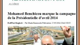 """Le Huffington Post : """"Mohamed Benchicou marque la campagne de la Présidentielle d'avril 2014"""""""