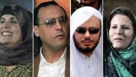 Des gendres de Kadhafi auraient quitté l'Algérie pour l'Egypte