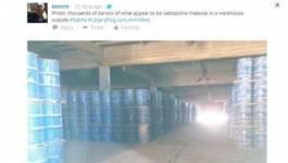 """Libye : du matériel estampillé """"radioactif"""" découvert"""