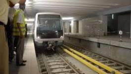 Le démarrage du métro d'Alger encore repoussé !