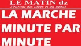 SAMEDI  10H 15 : LES ORGANISATEURS DE LA MARCHE DECIDES A ALLER JUSQU'AU BOUT