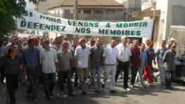 """La marche des """"Combattants du terrorisme"""""""