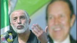 Belkhadem entre Bouteflika et Enrico Macias
