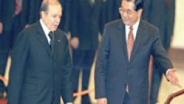 Algérie : Bouteflika solidaire avec le régime de Pékin