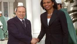 Condoleezza Rice octroie de bons points à Bouteflika