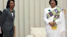 Un f'tour pour le premier tête-à-tête entre Condoleezza Rice et Mouammar Kadhafi