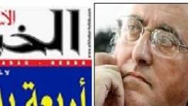A partir de jeudi : Mohamed Benchicou signe une chronique hebdomadaire dans « El-Khabar Hebdo »