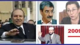 Bouteflika et ses petits lièvres