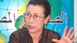 """Louisa Hanoune applaudit Ouyahia et accuse """"la mafia"""" d'être derrière les attentats"""