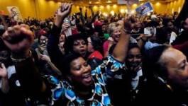 Les supporters de Barack Obama en liesse à Chicago