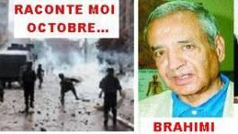 Miloud Brahimi* : « Le 5 octobre est exclusivement la révolte d'une jeunesse »
