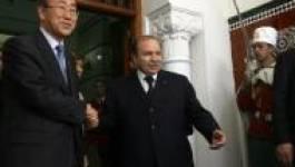 Les déclarations de Banki Moon et de l'Union européenne : un désaveu de la « réconciliation nationale » de Bouteflika