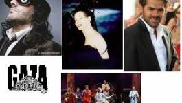 Jamel Debbouze, Rachid Taha, Souad Massi, Orchestre National de Barbès, Sapho,  Gnawas d'Alger : Un énorme concert pour Gaza !
