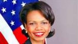 Condoleezza Rice à Alger samedi prochain pour une visite de quatre heures