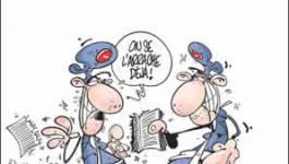 La censure du livre de Benchicou vue par Dilem (Liberté)
