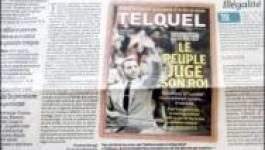 Caricature de la famille royale, Le quotidien Le Monde interdit au Maroc