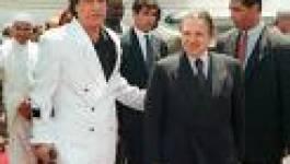 Bouteflika fâche Kadhafi