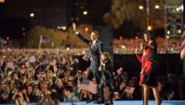 """""""Le changement arrive en Amérique"""" déclare le président élu Obama"""