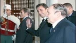 """Accueil froid à Alger : """"Sarkozy ce n'est pas Chirac !"""""""