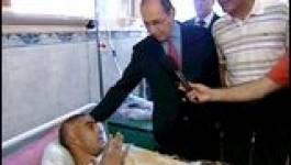 Attentat de Zemmouri (Boumerdes): le ministre de l'Intérieur sur les lieux