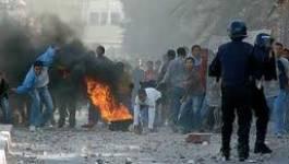 Violents affrontements entre jeunes et forces antiémeutes à Ouargla