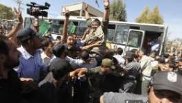 Triomphal accueil pour les prisonniers palestiniens à Gaza et en Cisjordanie