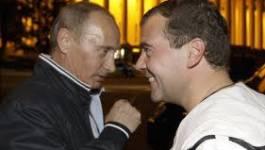 Vladimir Poutine, candidat à la présidentielle russe