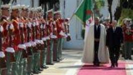 Le président tunisien en visite à Alger pour évoquer l'Union du Maghreb