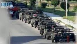 L'armée syrienne pilonne Al-Rastan, près de Homs