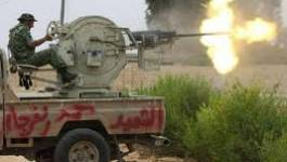 Les combattants du CNT contrôlent la ville de Bani Walid