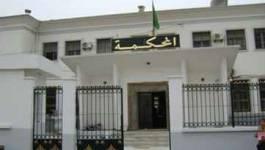 Oran : affaire du coffre forcé de la direction des impôts