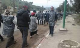 Les enseignants contractuels poursuivent leur marche vers Alger