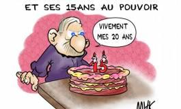 Bouteflika fête ses 77 ans et ses 15 ans au pouvoir