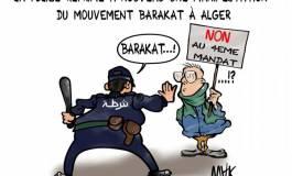 La police réprime de nouveau une manifestation de Barakat