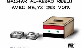 Bachar Al Assad réélu
