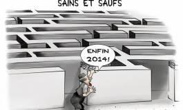 """Les Algériens finissent 2013 """"sains et saufs"""" !"""