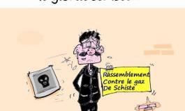 Le RCD marche contre le gaz de schiste