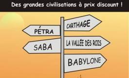 Vacances : de grandes civilisations à prix discount !