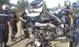 Hécatombe routière : 1.919 morts au premier semestre 2016