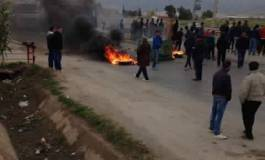 Protestation après l'auto-immolation d'un homme à Djarma (Batna)