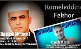 Pour la libération des détenus d'opinion en Algérie (clip vidéo)