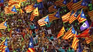 Des centaines de milliers d'indépendantistes catalans dans la rue contre Madrid
