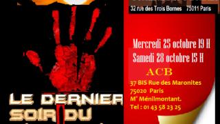 """""""Le dernier soir du dictateur"""", écrite par Benchicou sera interprétée à l'ACB et aux 3-Bornes"""