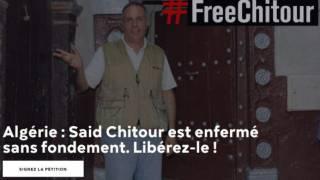 RSF lance une pétition pour la libération de Saïd Chitour