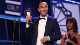 FIFA : Zinédine Zidane et Cristiano Ronaldo consacrés (Vidéo)
