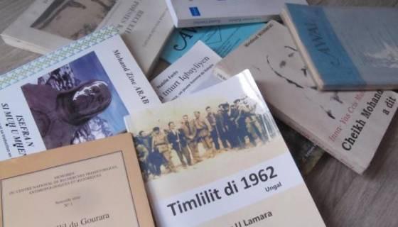 Le 12 janvier, j'achète un livre en tamazight